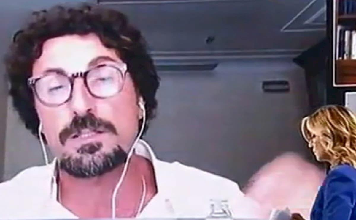 Danilo Toninelli, la gaffe a L'Aria che Tira
