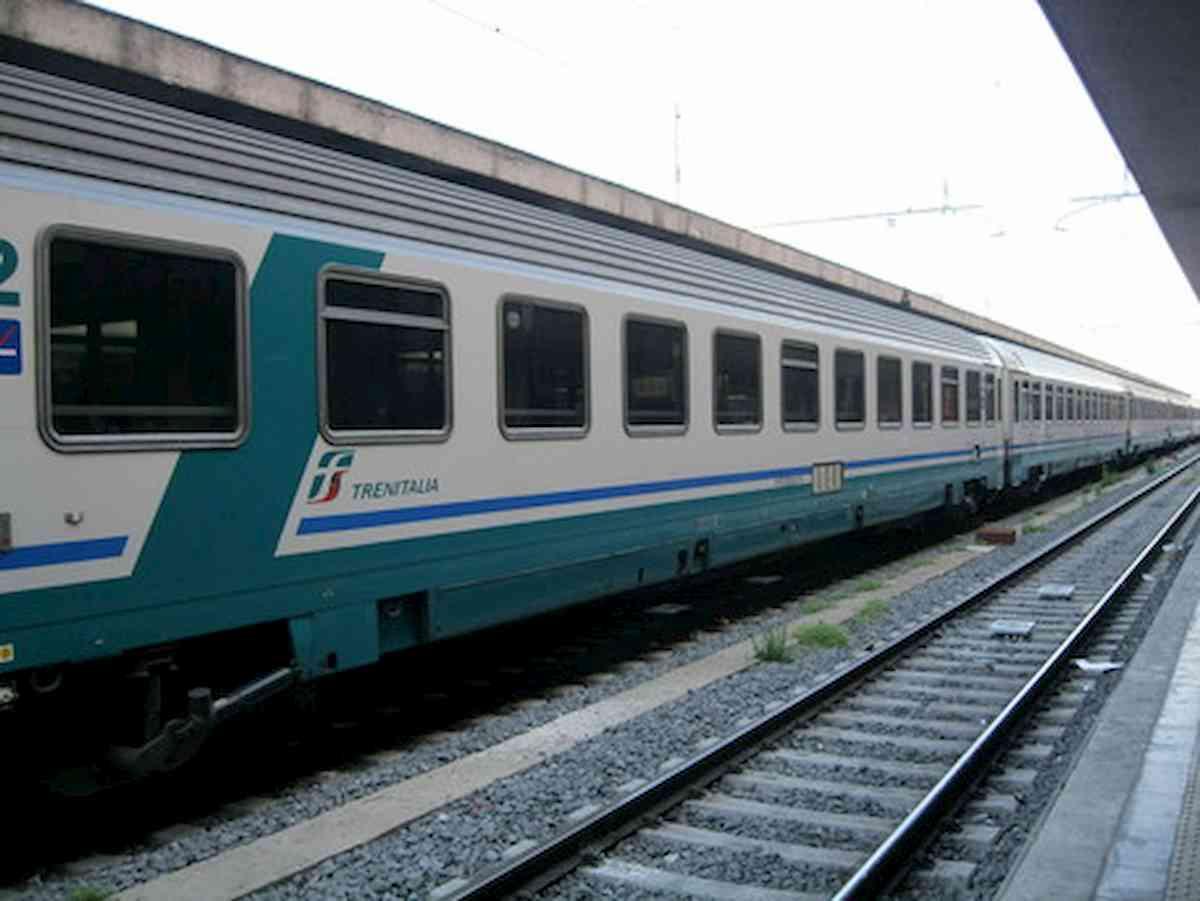 un treno, foto ansa