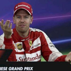 Vettel al volante della Aston Martin nel 2021