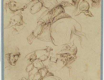 Leonardo da Vinci non dipinse la Battaglia di Anghiari