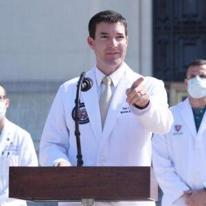 Sean Conley, il medico della Casa Bianca