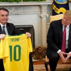 Trump Johnson Bolsonaro Lukashenko positivi