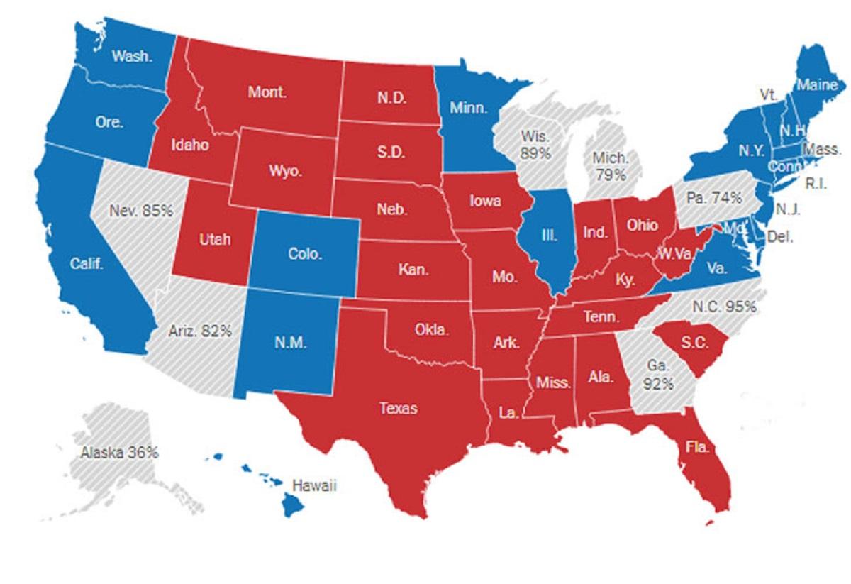 Le due cartine del nostro futuro: coronavirus (ora) ed elezioni Usa (lungo termine)