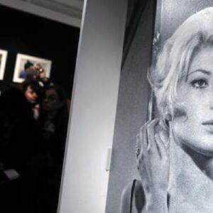 Monica Vitti, foto Ansa