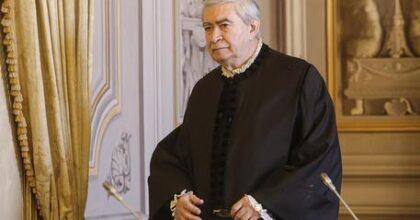 Pensioni, l'ingiusto taglio anticipa la tramvata per tutti: patrimoniale? Nella foto: il presidente della Corte Costituzionale Mario Rosario Morelli