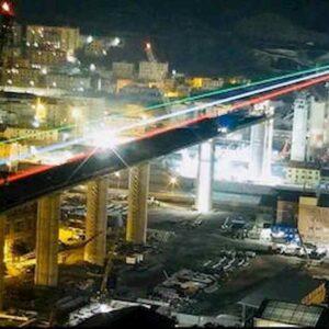 Genova, ponte di Piano, modello di Bucci, impresa che spaventa i politici nel libro di Manzitti