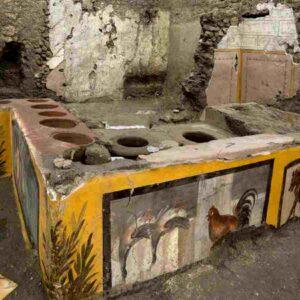 Pompei, foto ansa