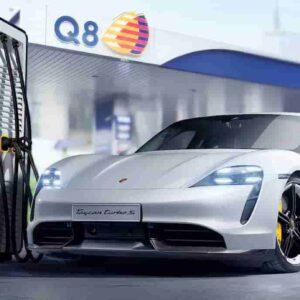 Enel X, Porsche e Q8: accordo per le stazioni di ricarica ultrafast di auto elettrice entro la fine del 2021