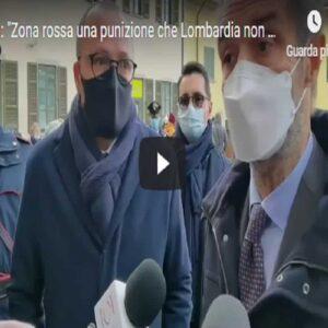"""Lombardia zona rossa, Fontana: """"Una punizione che non ci meritiamo. C'è qualcosa che non torna nei numeri"""""""