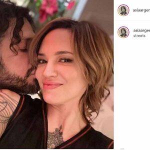 Asia Argento Fabrizio Corona, foto Instagram