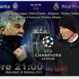 Atalanta-Real Madrid, probabili formazioni e dove vederla: diretta tv e streaming ottavi di finale Champions League