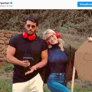"""Can Yaman e Diletta Leotta escono allo scoperto: la prima foto di """"coppia pericolosa"""", lui disattiva i commenti"""