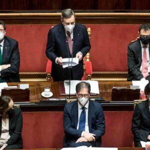 Draghi, guarda al Quirinale, pensa al Recovery, lascia campo ai partiti, Salvini imperversa, ci si aspettava di più