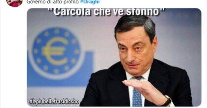Draghi se la ride: Crimi e Zingaretti ridotti a polpette, entra la Lega, senza il Grande Nord non è SuperMario
