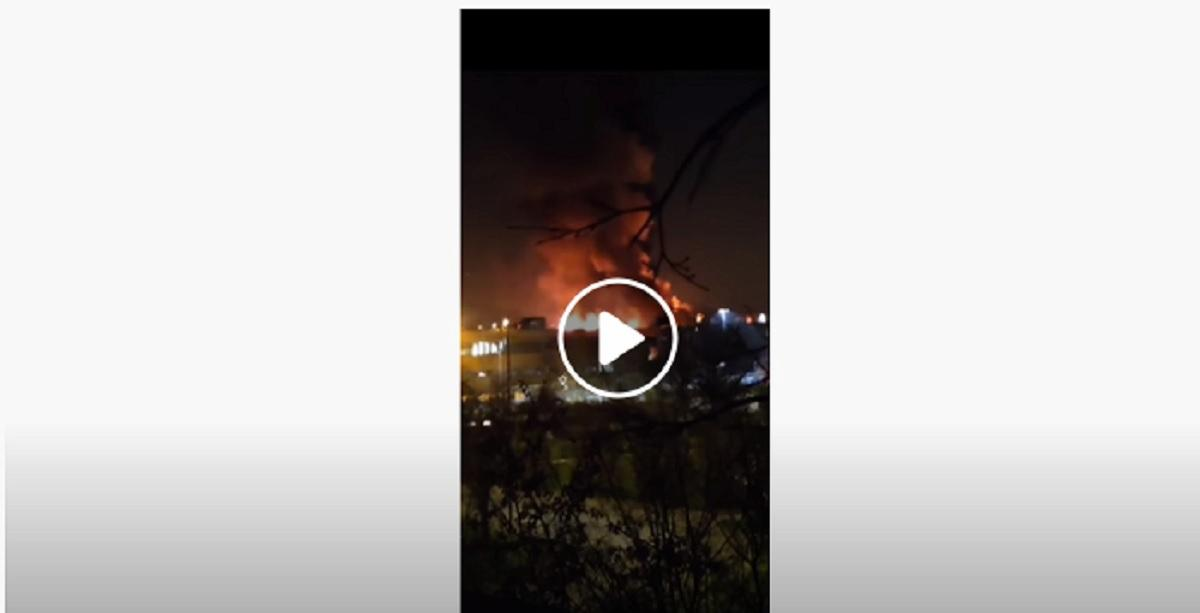 incendio pozzo d'adda