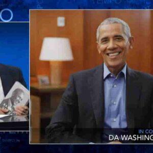 Obama da Fazio VIDEO intervista: la gioventù, Michelle e...quella volta che Amal Clooney lo sconfisse a basket