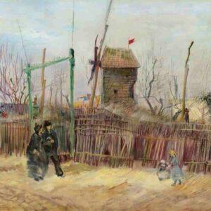 Van Gogh, all'asta da Sotheby's il dipinto su Montmartre: valore stimato tra i 5 e gli 8 milioni