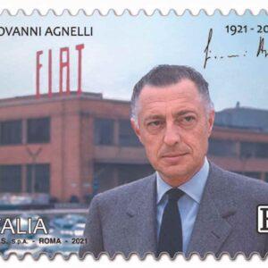 Gianni Agnelli, nel giorno del centenario arriva il francobollo