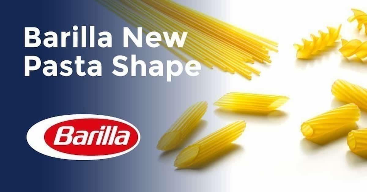 Barilla, concorso online per un nuovo formato di pasta