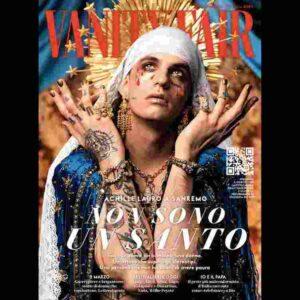 """Achille Lauro in copertina su Vanity Fair: """"Mi accuseranno di blasfemia ma santi e Madonne fanno parte me"""" FOTO"""