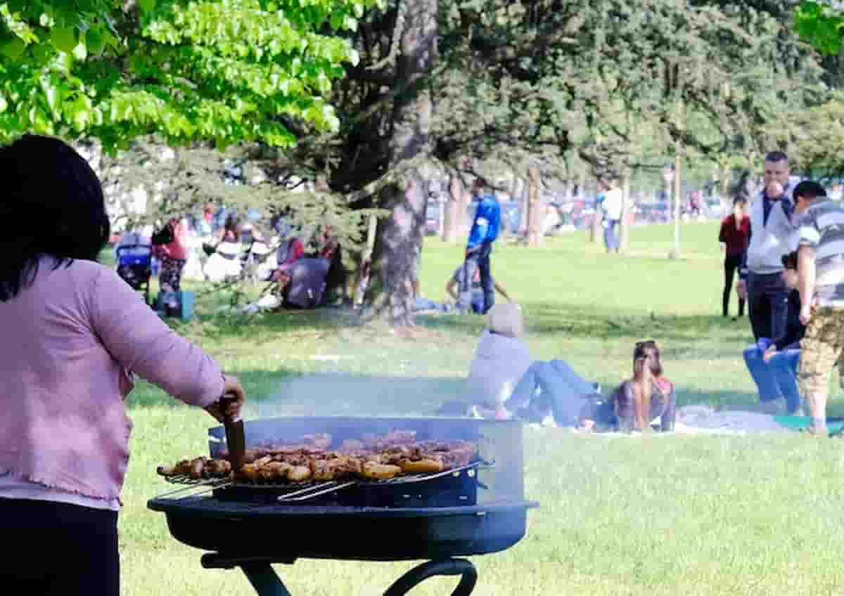 Brighton vietati barbecue