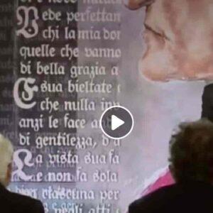 """Benigni scherza con Mattarella mentre legge XXV Canto del Paradiso: """"Per lei farei il barbiere"""" VIDEO"""