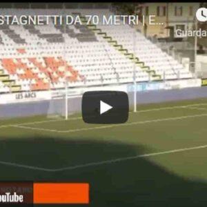 Michele Castagnetti, tiro al volo di sinistro da 70 metri: l'incredibile gol del centrocampista della Cremonese VIDEO