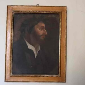 Dante con la barba: il quadro inedito nell'ufficio del sindaco di Orvieto (ma è sempre stato là) FOTO