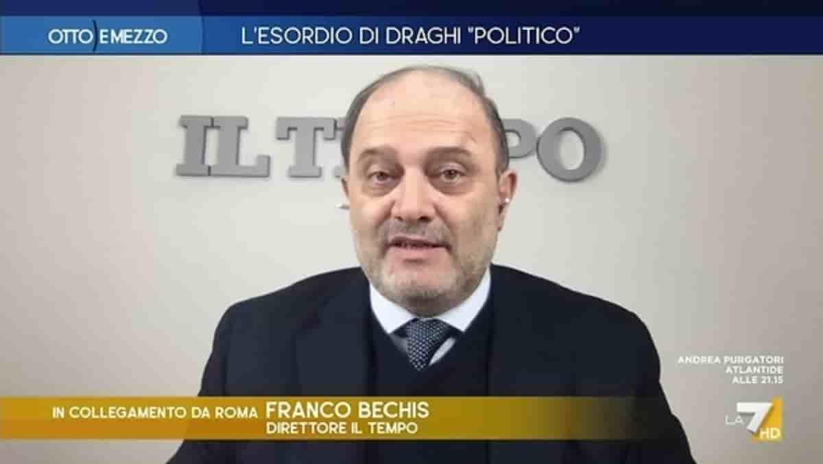 """Franco Bechis: """"Aggredito da un gabbiano, ho il piede fratturato. Può succedere solo sulle Ande... o a Roma"""""""