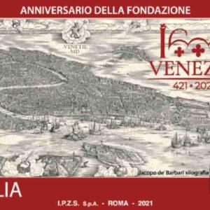 Poste Italiane, francobollo celebra Venezia per l'anniversario dei 1600 anni dalla fondazione