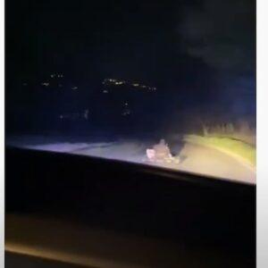 Frosinone, inseguimento della Polizia al go-kart