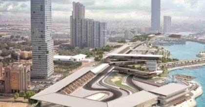 Formula 1, svelato il circuito di Jeddah