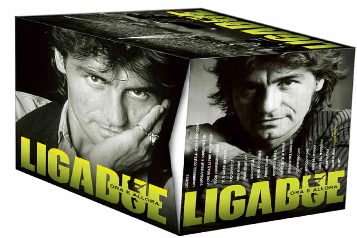 """Luciano Ligabue, arriva la discografia completa """"Ora e allora"""". Il cofanetto in edicola dal 30 marzo"""