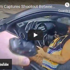 Nashville, agente ferma donna sospetta. Lei tira fuori una pistola e spara. Il poliziotto reagisce e... VIDEO