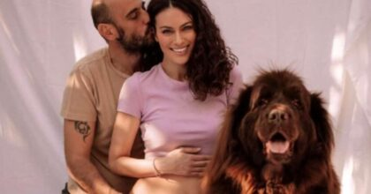 Paola Turani è incinta