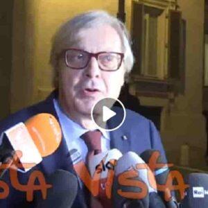 Vittorio Sgarbi ha un cancro al testicolo e racconta di aver avuto il Covid senza essersene accorto