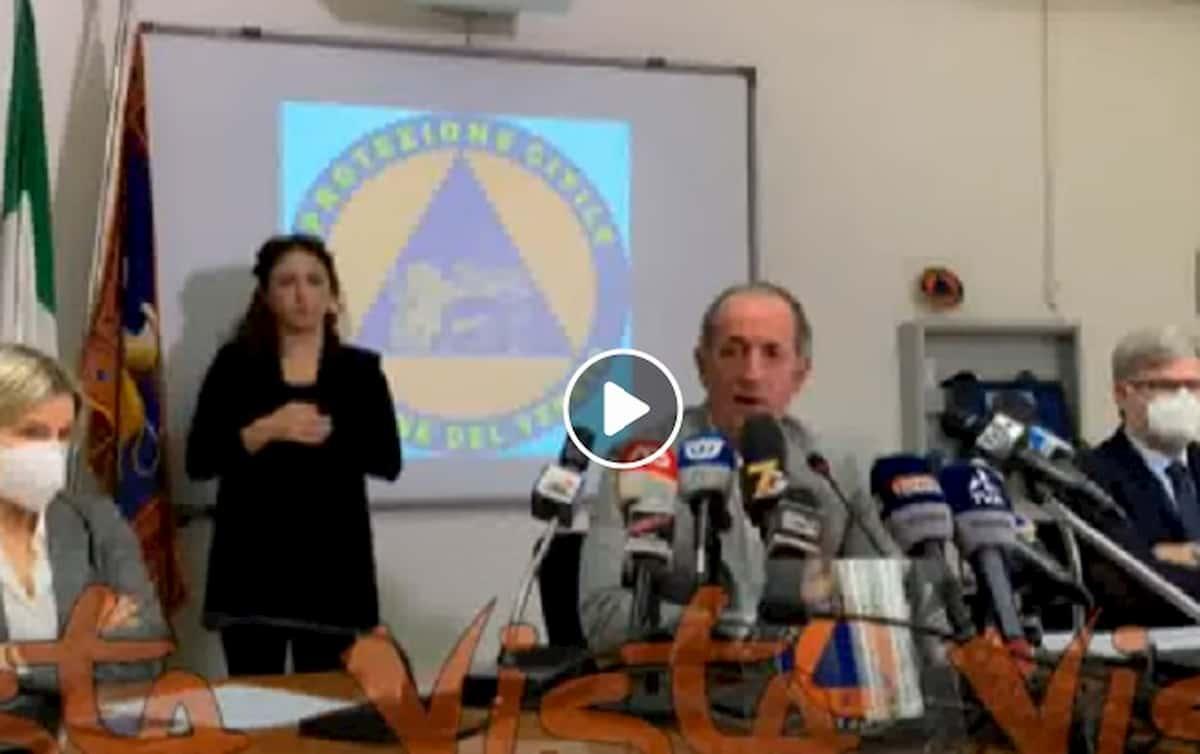 Veneto zona arancione, ma scuole ancora aperte: l'annuncio di Zaia. Bollettino Veneto: 3000 casi in 2 giorni