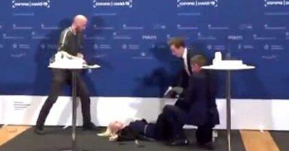 Danimarca, sviene in diretta tv mentre annuncia lo stop ad AstraZeneca: il VIDEO della direttrice dell'agenzia del farmaco