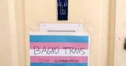 Napoli studente transgender