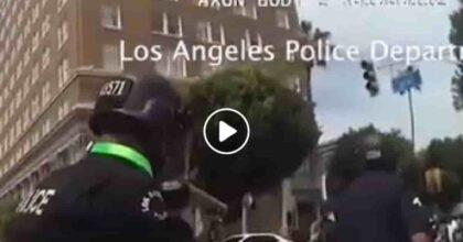 Poliziotto spara proiettile di gomma contro Ben Montemayor e gli fa esplodere il testicolo VIDEO