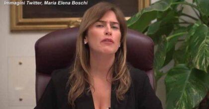 """Maria Elena Boschi contro Beppe Grillo: """"Il suo video maschilista e scandaloso. Non può assolvere il figlio col suo potere"""""""