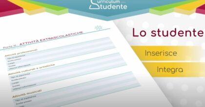 Curriculum dello studente 2021: cos'è, dove si compila, a cosa serve VIDEO