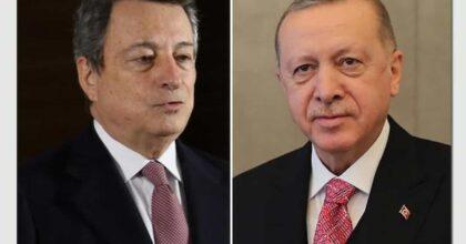 Erdogan Draghi maleducato