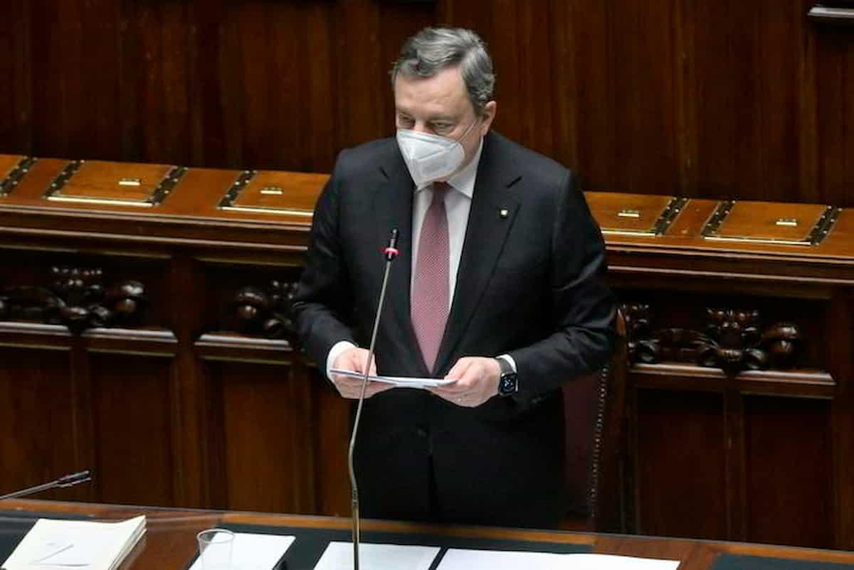 Mario Draghi, il discorso integrale al Senato sul Recovery Plan: testo e video