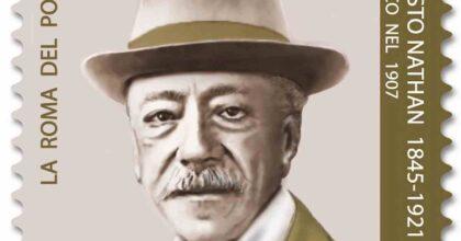 Ernesto Nathan, il francobollo di Poste omaggio al sindaco di Roma a 100 anni dalla sua scomparsa