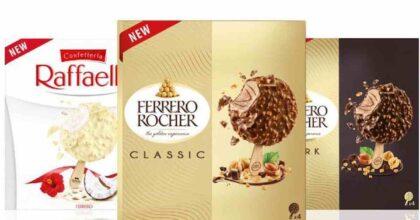 Ferrero sbarca nel mondo dei gelati: arrivano lo Stecco Rocher e i ghiaccioli Estathé