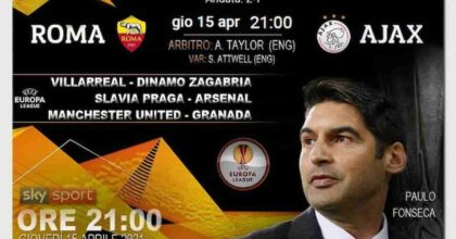 Roma-Ajax Europa League