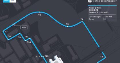 Formula E torna a Roma sabato 10 aprile e domenica 11 per la prima volta come Campionato del Mondo
