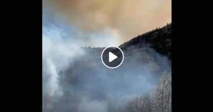 incendio in val cannobina