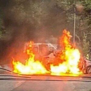 Incidente a Bosisio Parini (Lecco): motociclista muore carbonizzato a 37 anni